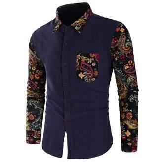 711cb81337ed2 Pervobs Mens Long Sleeve Shirts Shirts for Mens