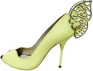 Sophia Webster Yellow Patent leather Heels