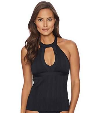 Athena Women's Fine Line Halter Swimsuit Tankini Top