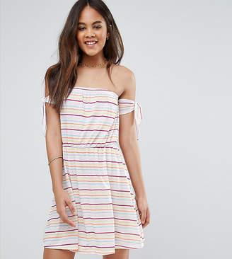 Asos Tall DESIGN TALL Stripe Jersey Beach Dress