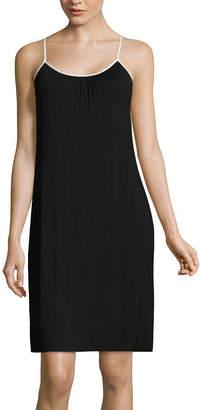 Asstd National Brand Sleeveless Floral Nightshirt