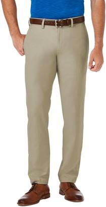 Haggar Big & Tall Cool 18 PRO Slim-Fit Wrinkle-Free Flat-Front Super Flex Waist Pants