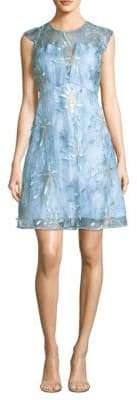 Elie Tahari Olive A-Line Dress