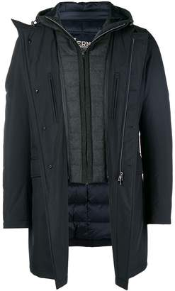 Herno layered padded jacket