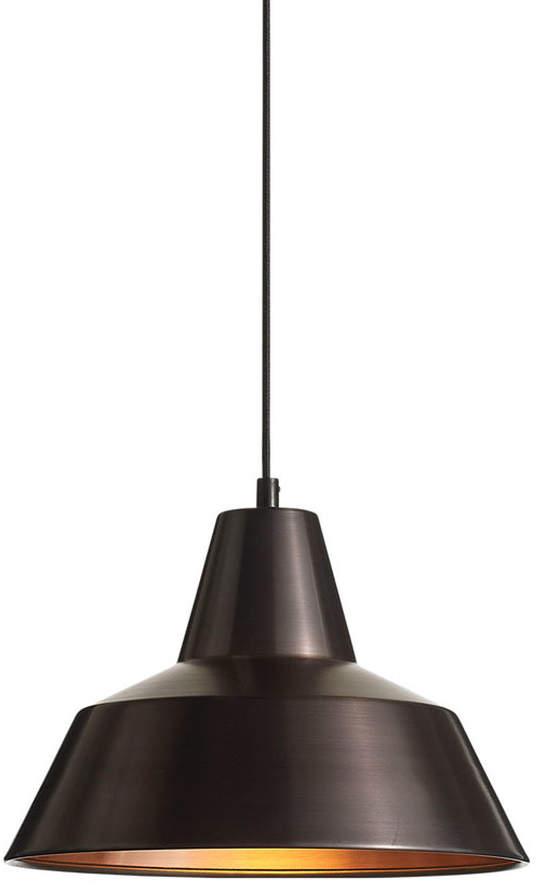 Made by Hand - Workshop Lamp W2, verwittertes Kupfer / schwarz