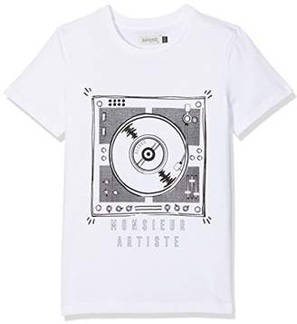 Jean Bourget TS Posca, Platinum dj Boys T-Shirt,(Manufacturer Size: 6A) 3 Washable Markers Included