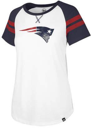 '47 Women's New England Patriots Flyout Raglan T-Shirt