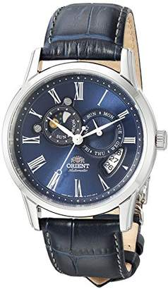 Orient Men's FET0T004D0 Classic Sun and Moon Version 2 Analog Automatic Watch