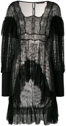 Amen sheer lace blouse