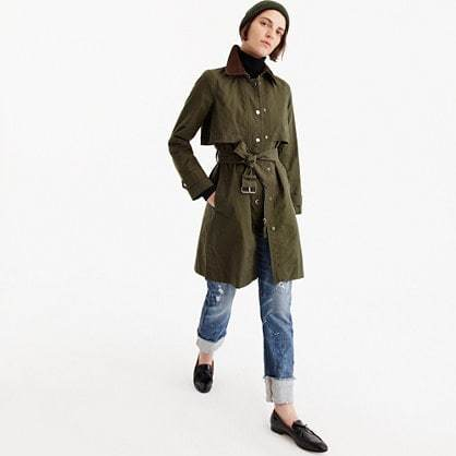 Field trench coat
