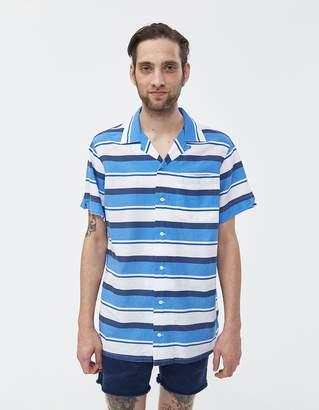 Polo Ralph Lauren Linen Stripe Button Up Shirt