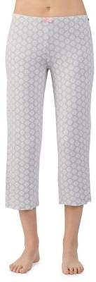 Ellen Tracy Cropped Jersey Pajama Pants