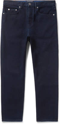Valentino Logo-Print Denim Jeans - Men - Blue