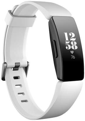 Fitbit Inspire HR Fitness Trackers - White
