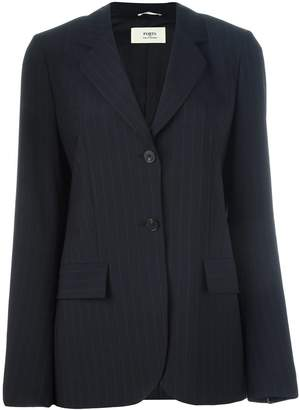 Ports 1961 pinstripe blazer jacket