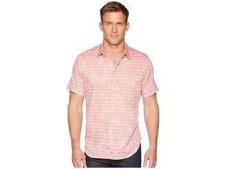 Robert Graham Machado Short Sleeve Woven Shirt Men's Clothing