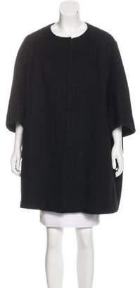 Hache Short Wool-Blend Coat