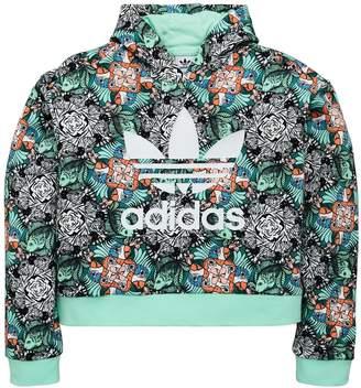 adidas Girls Zoo Hoodie - Multi