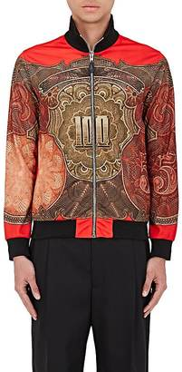 Givenchy GIVENCHY MEN'S MONEY-PRINT TRACK JACKET $1,850 thestylecure.com
