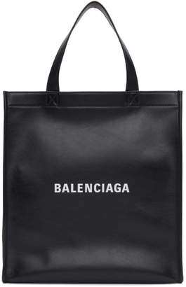 Balenciaga Black Small Market Shopper Tote