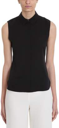 Theory Sleeveless Classic Collar Shirt