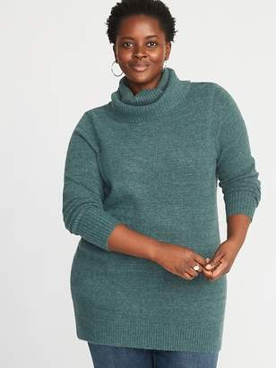 Old Navy Plus-Size Turtleneck Tunic Sweater