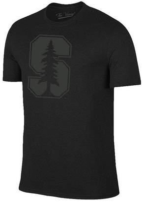 Champion Men Stanford Cardinal Black Out Dual Blend T-Shirt