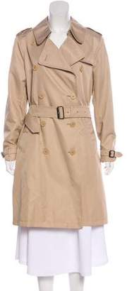 Burberry Double-Breasted Belted Coat