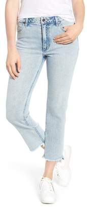 Wrangler Acid Wash High Waist Crop Jeans