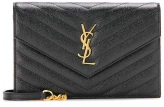 Saint Laurent Classic Monogram quilted leather shoulder bag