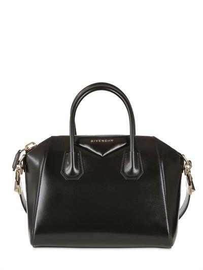 Givenchy Small Antigona Shiny Smooth Leather Bag