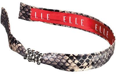 Elle Faux Snake Beaded Headband