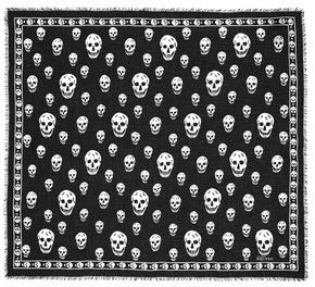 Alexander McQueenAlexander McQueen Classic skull modal-silk scarf