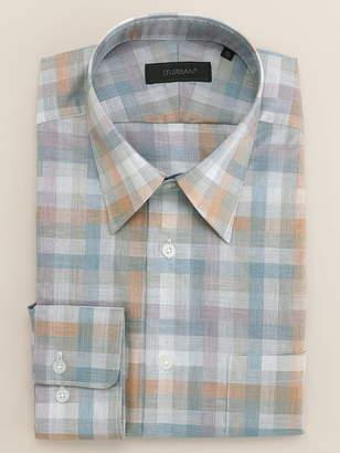 Durban (ダーバン) - ダーバン グラデーションチェックシャツ