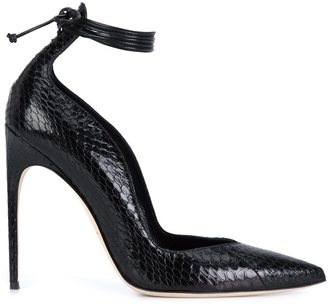Brian Atwood ankle wrap pumps $950 thestylecure.com