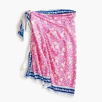 J.Crew SZ BlockprintsTM for sarong-scarf