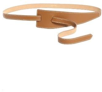 Max MaraWomen's Max Mara Fraise Leather Belt
