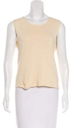 Alberta Ferretti Sleeveless Knit Top
