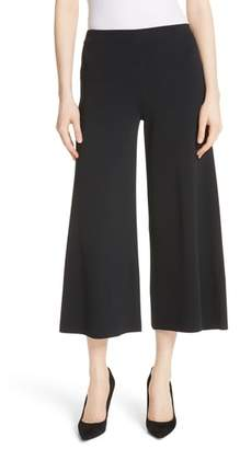 Theory Henriet K Lustrate Wide Leg Crop Pants