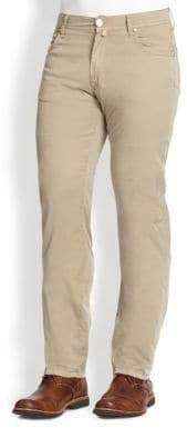 Corneliani Five-Pocket Cotton Pants