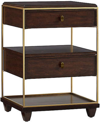 One Kings Lane Virage Two-Drawer Nightstand - Cherry