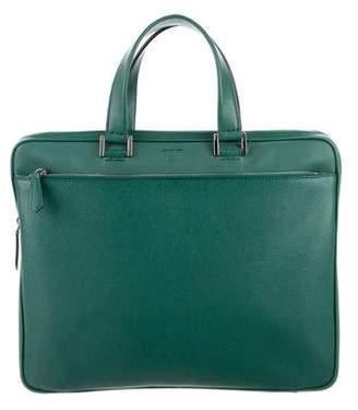 Fendi Leather Business Briefcase