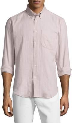 Naked & Famous Denim Men's Double Weave Slub Gauze Regular Sportshirt