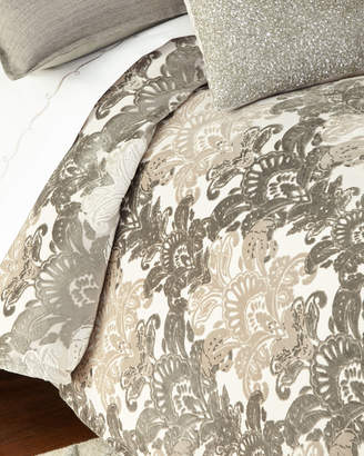 Isabella Collection By Kathy Fielder Queen Ethos Damask Duvet Cover