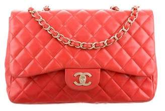 Chanel Classic Jumbo Single Flap Bag Coral Classic Jumbo Single Flap Bag