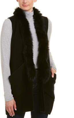 Milly Knit Wool Vest