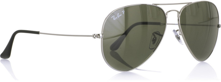 Ray-Ban Polarized aviator metal sunglasses