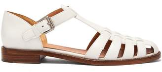 c68c0005b94 Church s Kelsey Cut Out Leather Sandals - Womens - White