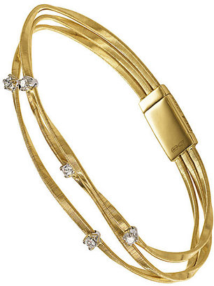 Marco Bicego Marrakech 18ct yellow gold diamond bracelet
