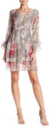 Luma Ruffle Layer Floral Dress